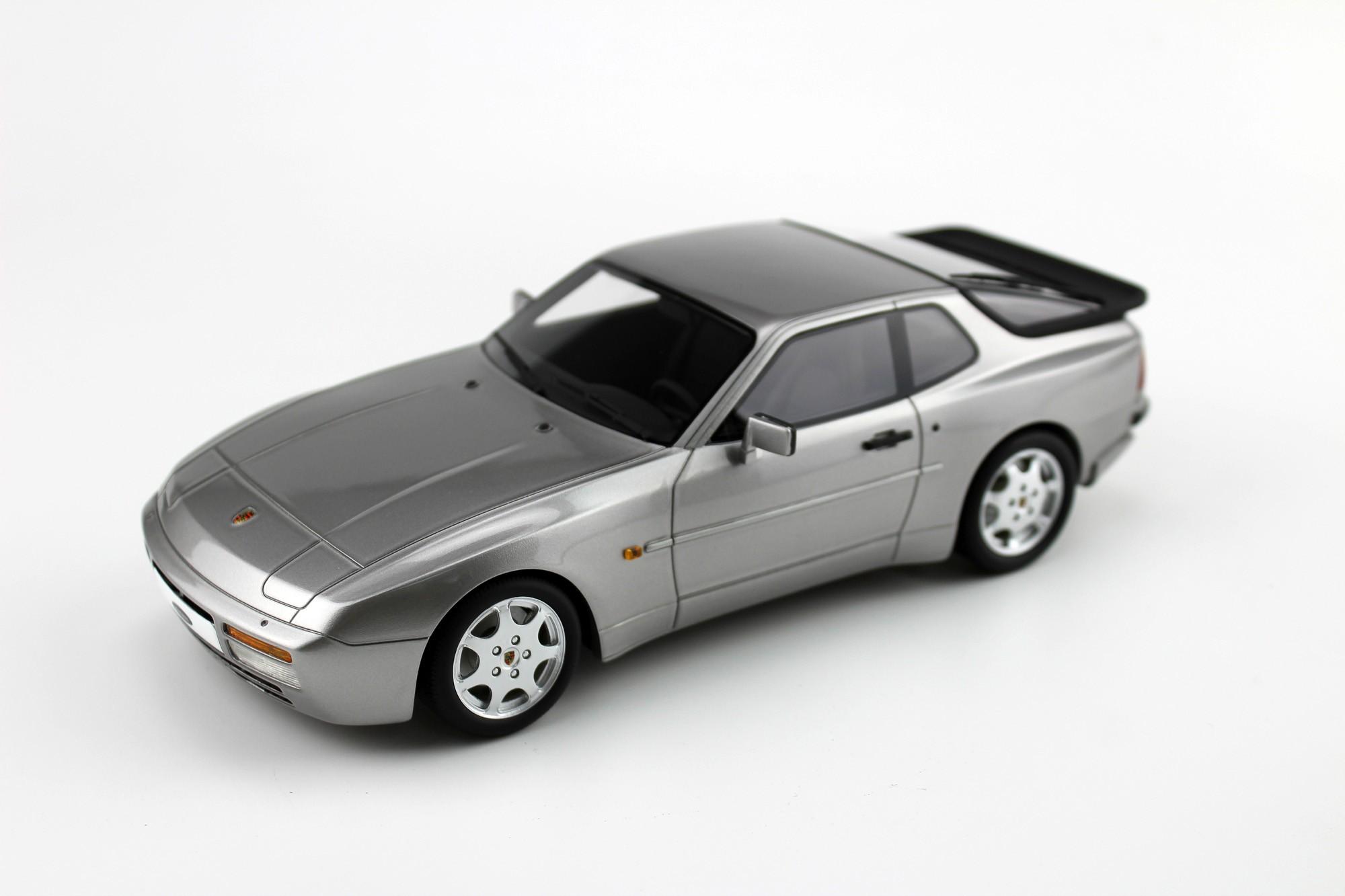 ls collectibles porsche 944 turbo s, 1:18 silver | ls023a