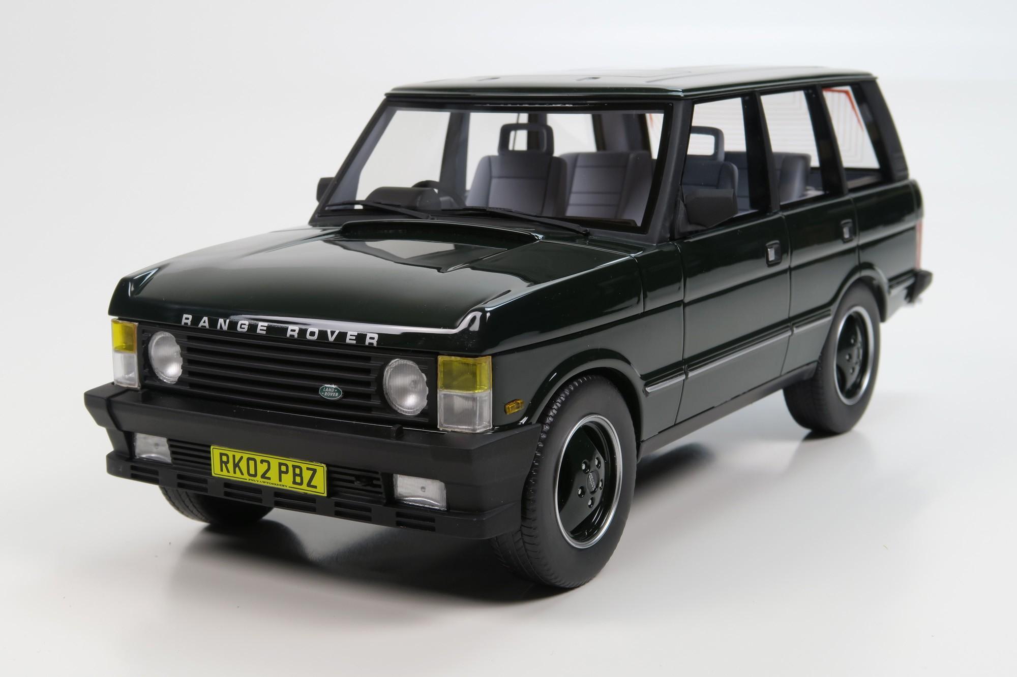 ls collectibles range rover 1 18 green ls001a. Black Bedroom Furniture Sets. Home Design Ideas