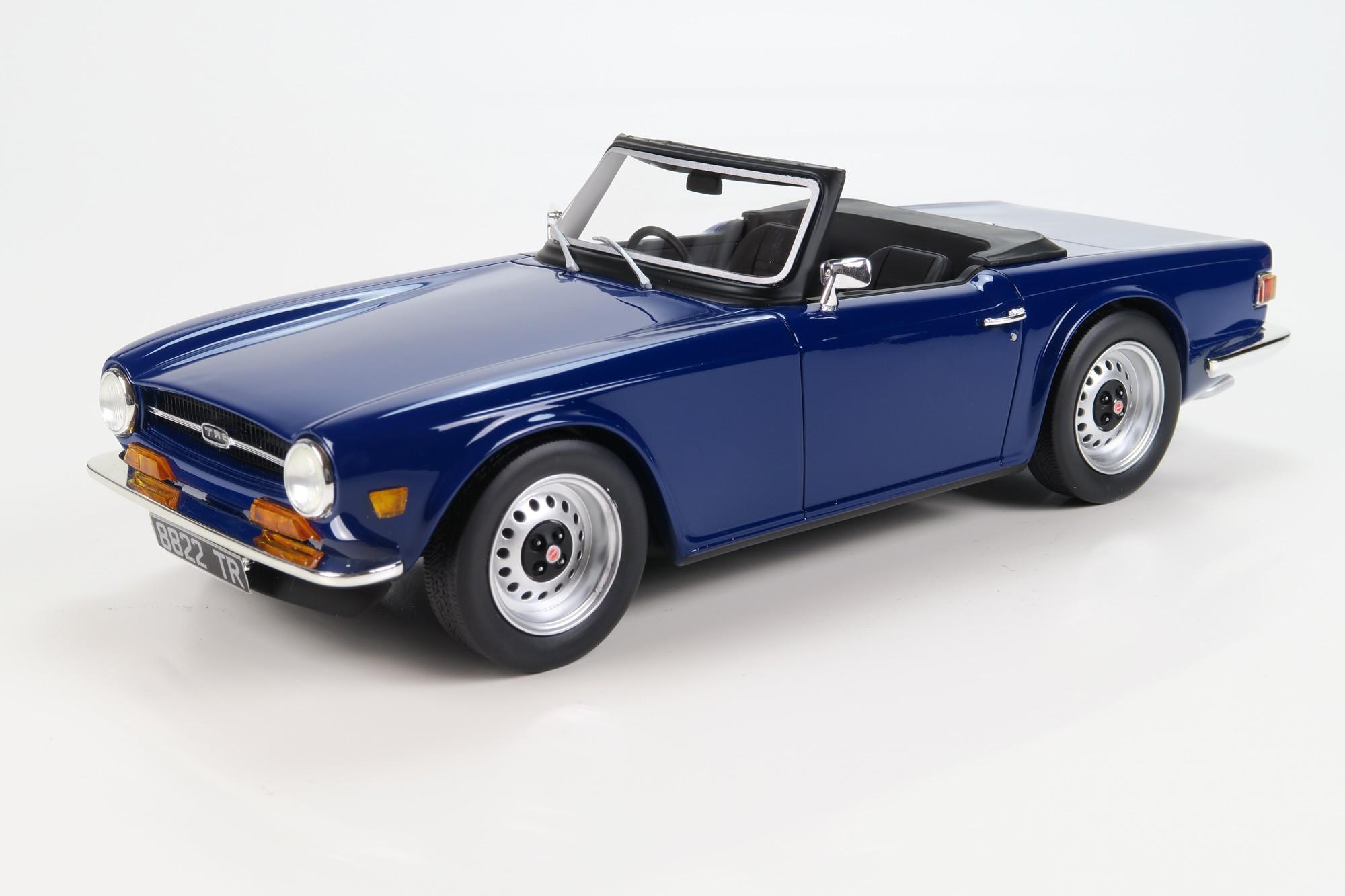 Ls Collectibles Triumph Tr6 118 Blue Ls002b