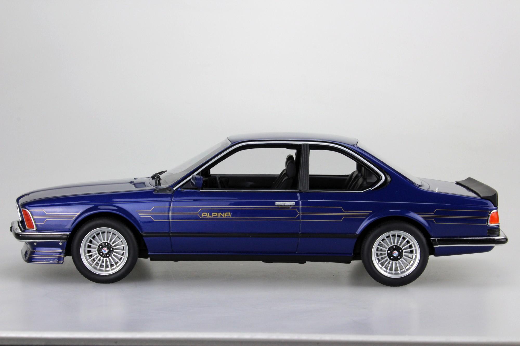 Ls Collectibles Bmw Alpina B7 1 18 Blue Ls029d