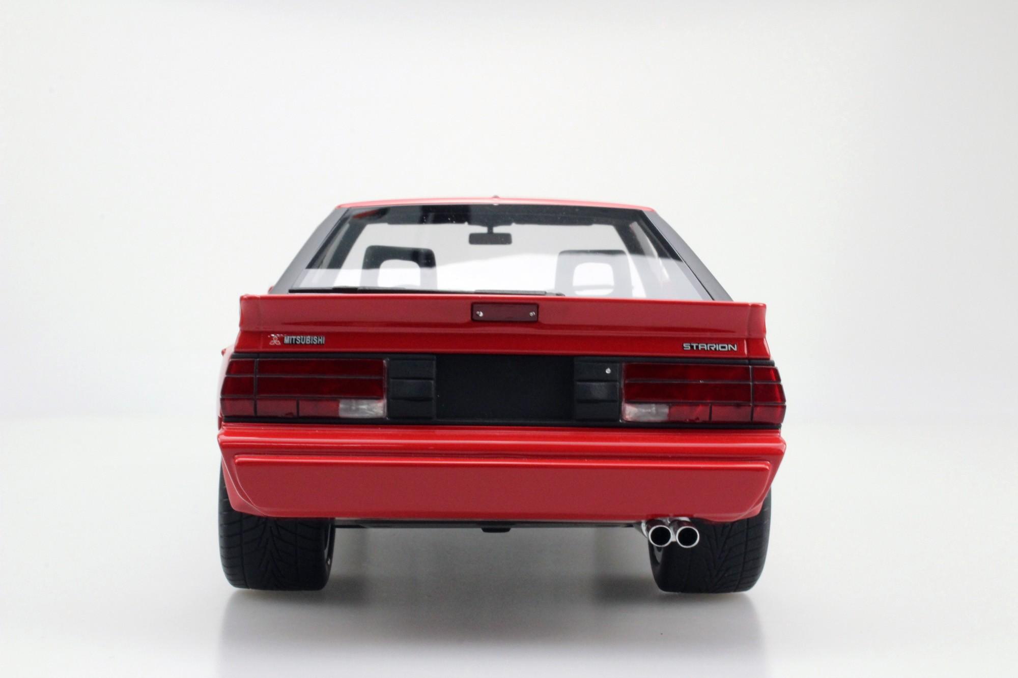 Mitubishi Starion Red Web on Mitsubishi Starion Parts