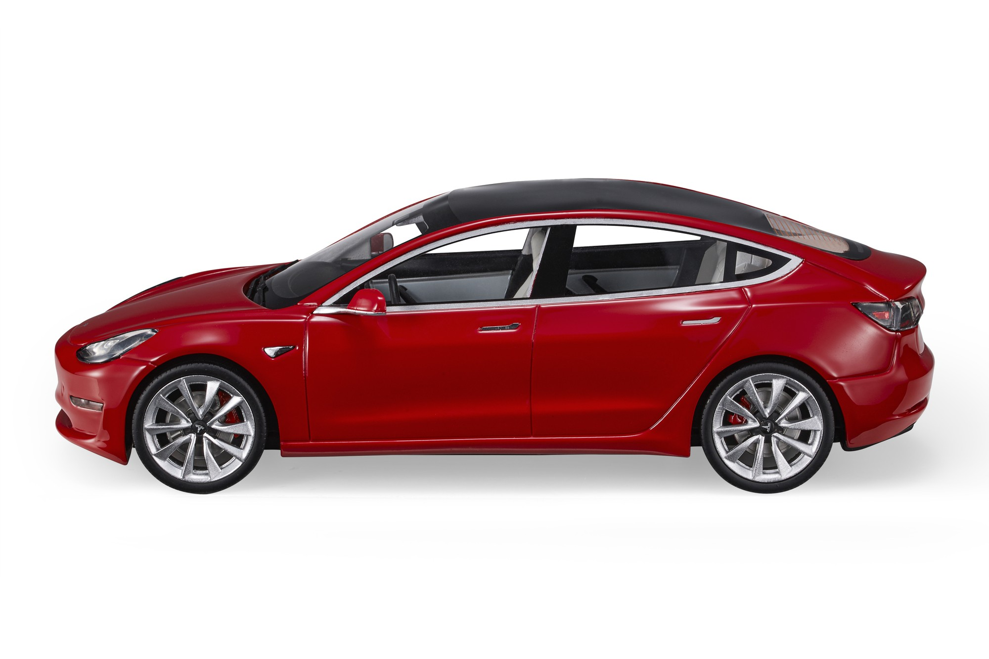 LS Collectibles Tesla Model 3 (Pre-order), 1:18 red   LS074A