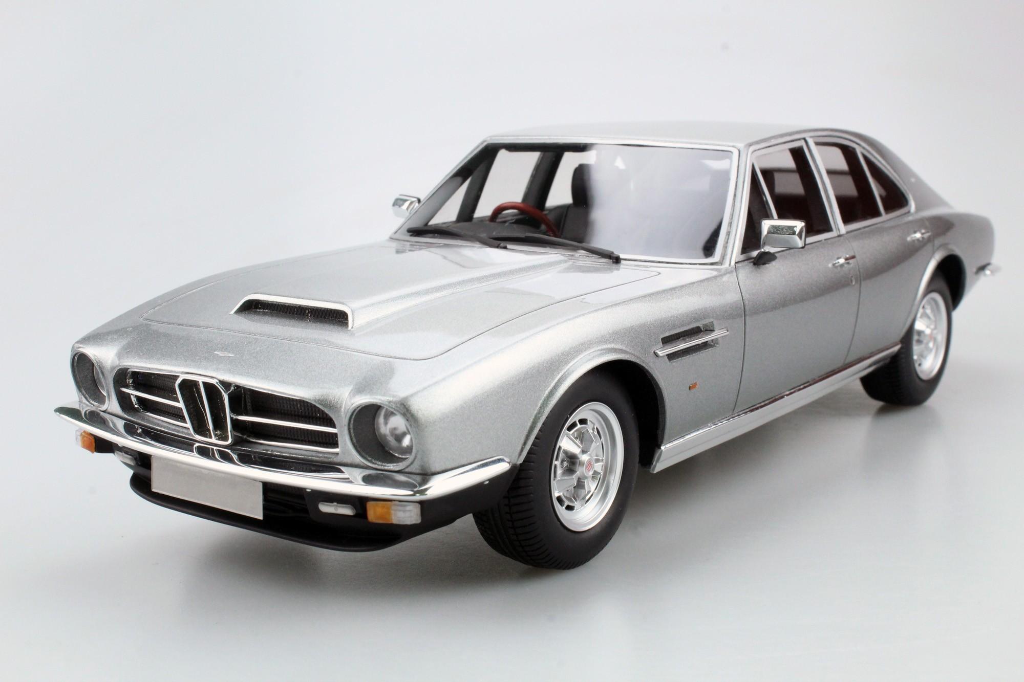 Ls Collectibles Aston Martin Lagonda 1974 Saloon 1 18 Silber Ls024b